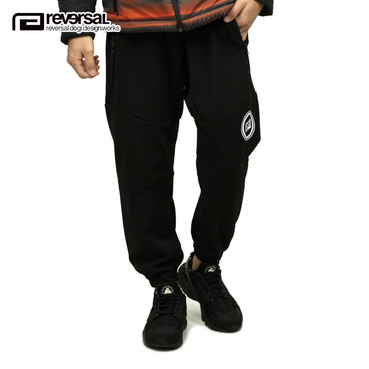 リバーサル REVERSAL 正規販売店 メンズ ジョガーパンツ BLACK BELT JOGGER PANTS rv18aw021 BLACK
