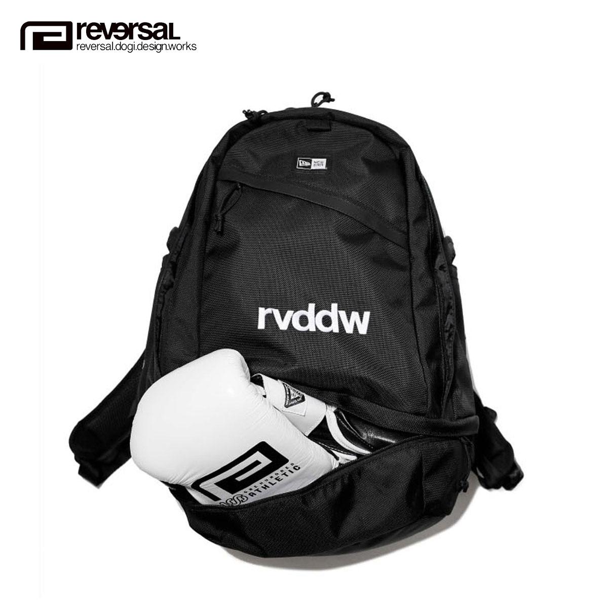 リバーサル REVERSAL 正規販売店 メンズ レディース バッグ バックパック リュック NEW ERA x rvddw SPORTS PACK rvner012 BLACK