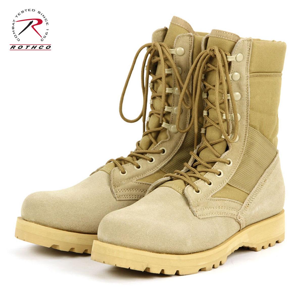 ロスコ ROTHCO 正規品 メンズ ブーツ G.I. Type Sierra Sole Desert Tan Boots 5257 D00S20