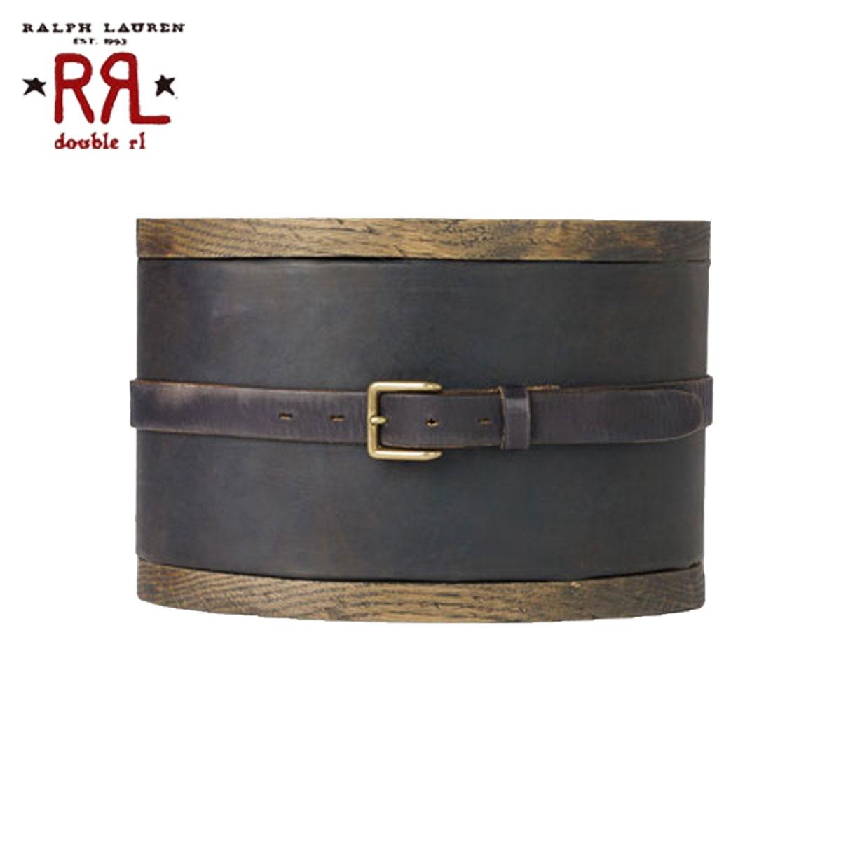 【販売期間 6/4 10:00~6/11 09:59】 ダブルアールエル RRL 正規品 メンズ ベルト Winston Leather Belt D20S30 父の日
