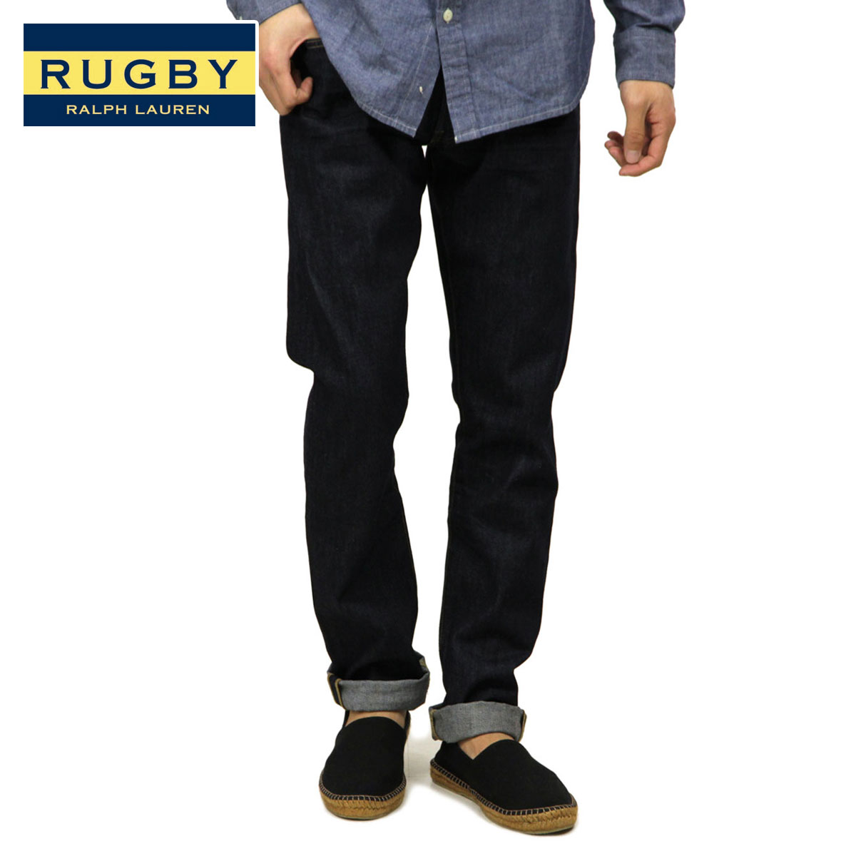 Ralph Lauren Rugby genuine, these jeans Vintage Slim Resin Jean A07B B1C C2D D1E E07F fs3gm10P14Nov13