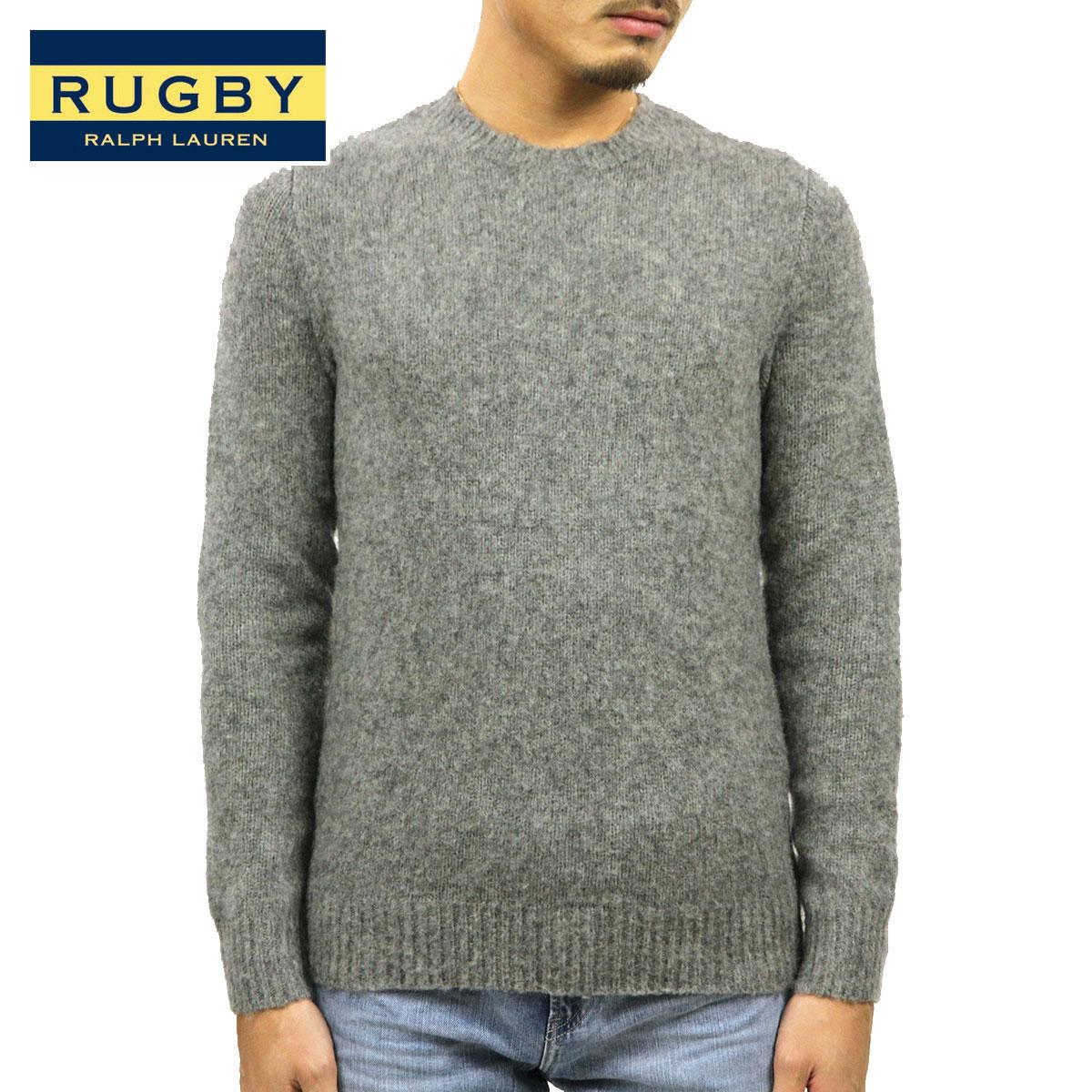 ラルフローレン ラグビー RUGBY RALPH LAUREN 正規品 メンズ セーター Shetland Sweater CHARCOAL D35S45