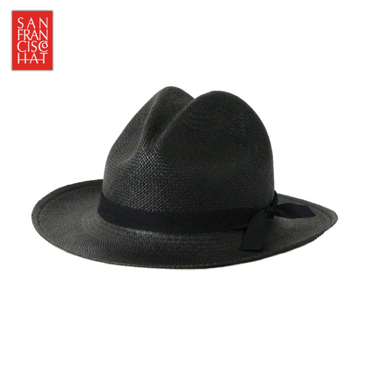 サンフランシスコハット SANFRANCISC HAT 正規販売店 正規品 帽子 ハット BRISA SANTA FE BLACK
