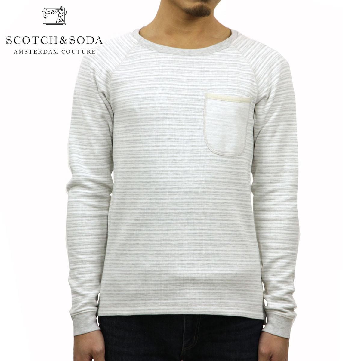 スコッチアンドソーダ SCOTCH&SODA 正規販売店 メンズ スウェット Home Alone Long Sleeve Tee 100066 A1 D00S20