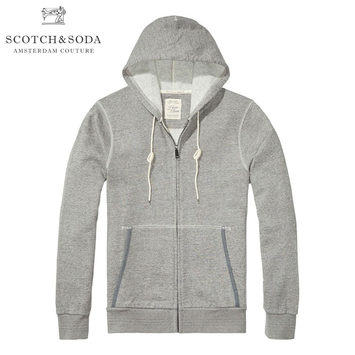 スコッチアンドソーダ SCOTCH&SODA 正規販売店 メンズ パーカー Home Alone Zip Through 100050 39 D00S20