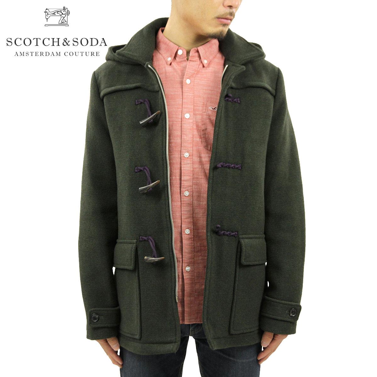 スコッチアンドソーダ SCOTCH&SODA 正規販売店 メンズ アウターコート Classic duffle coat in wool quality 101343 7B D00S20