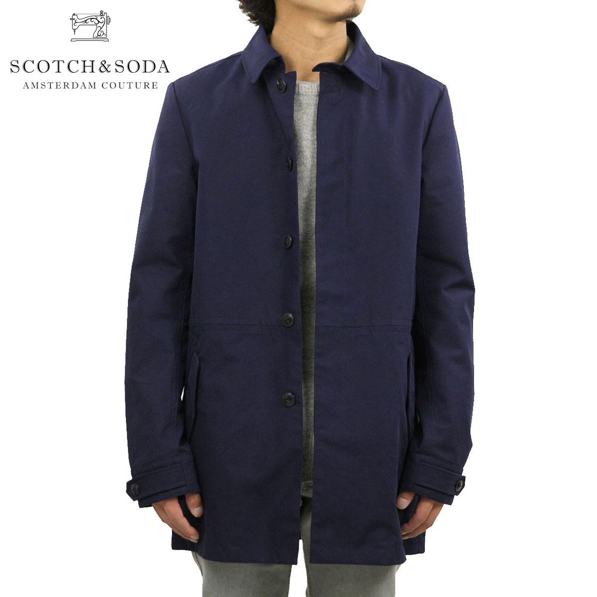 スコッチアンドソーダ SCOTCH&SODA 正規販売店 メンズ アウターコート Ams Blauw Bonded Trench Coat 100004 59 D00S20