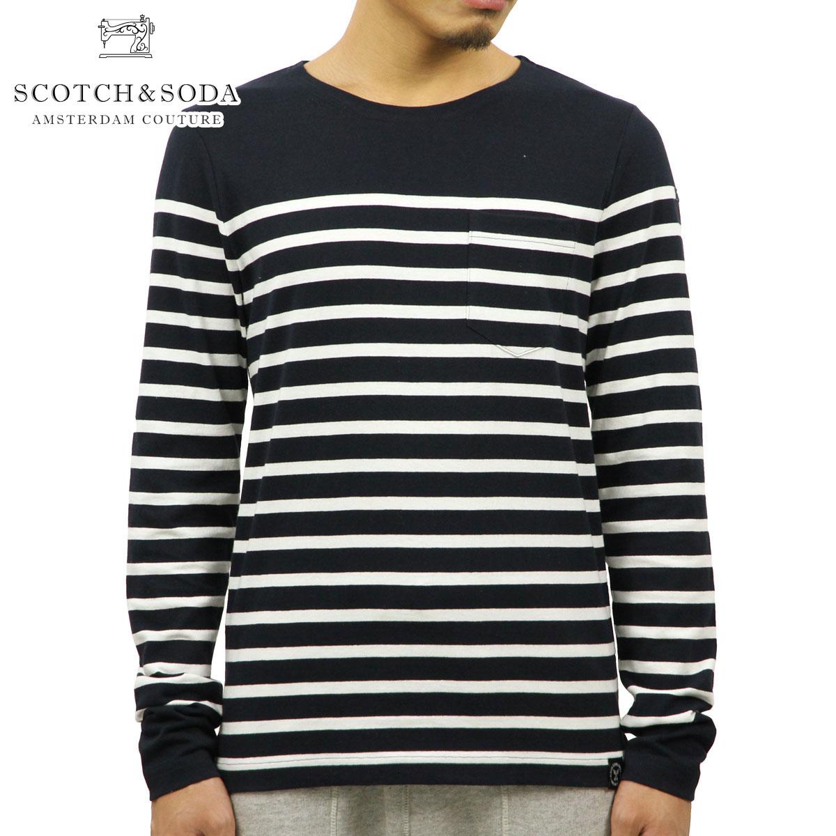 スコッチアンドソーダ SCOTCH&SODA 正規販売店 メンズ 長袖Tシャツ AMS BLAUW CLASSIC LONG SLEEVE TEE DC 137738 20 43403 COMBO D