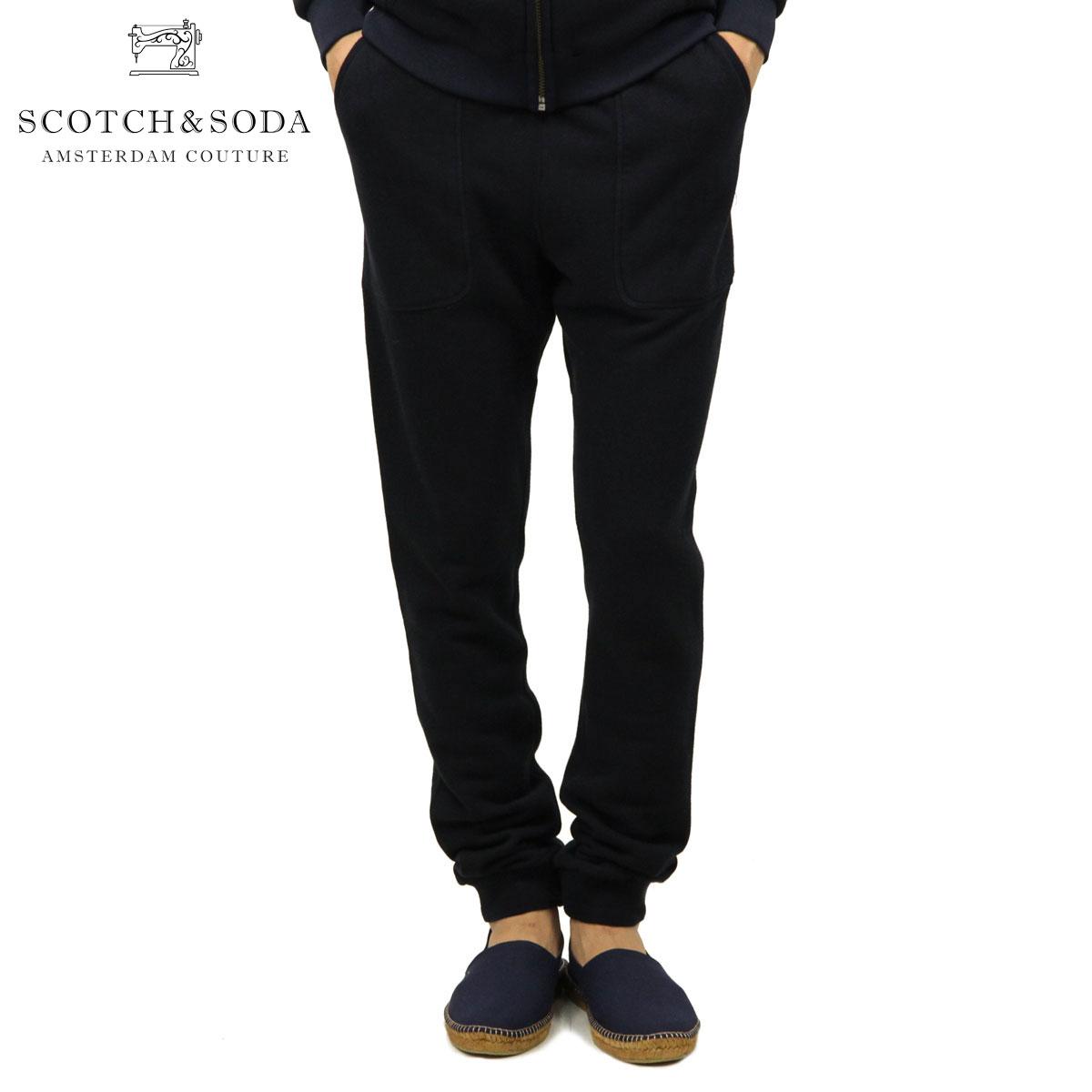 スコッチアンドソーダ SCOTCH&SODA 正規販売店 メンズ スウェットパンツ HOME ALONE CLASSIC JOGGING PANT DC 137550 57 43502 NAVY