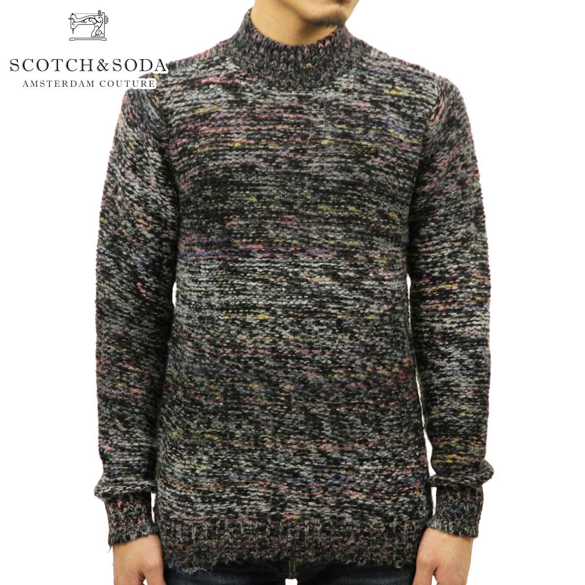スコッチアンドソーダ SCOTCH&SODA 正規販売店 メンズ セーター CREW NECK KNIT SWEATER 139813 0218 45428 COMBO B