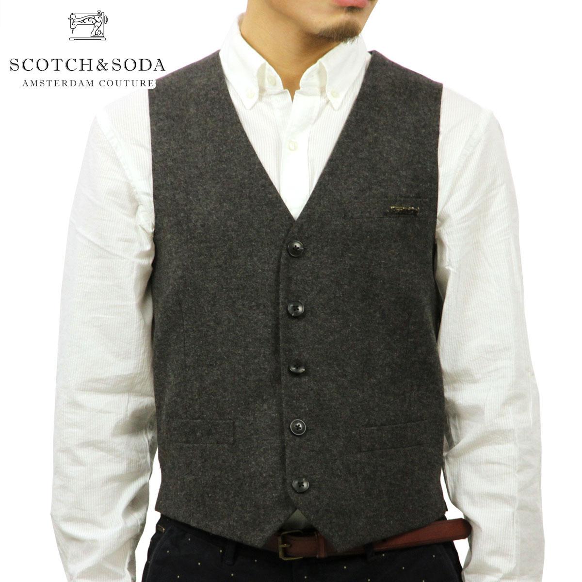スコッチアンドソーダ SCOTCH&SODA 正規販売店 メンズ ベスト NEPS WOOL CLASSIC GILET 139497 0217 42604 COMBO A