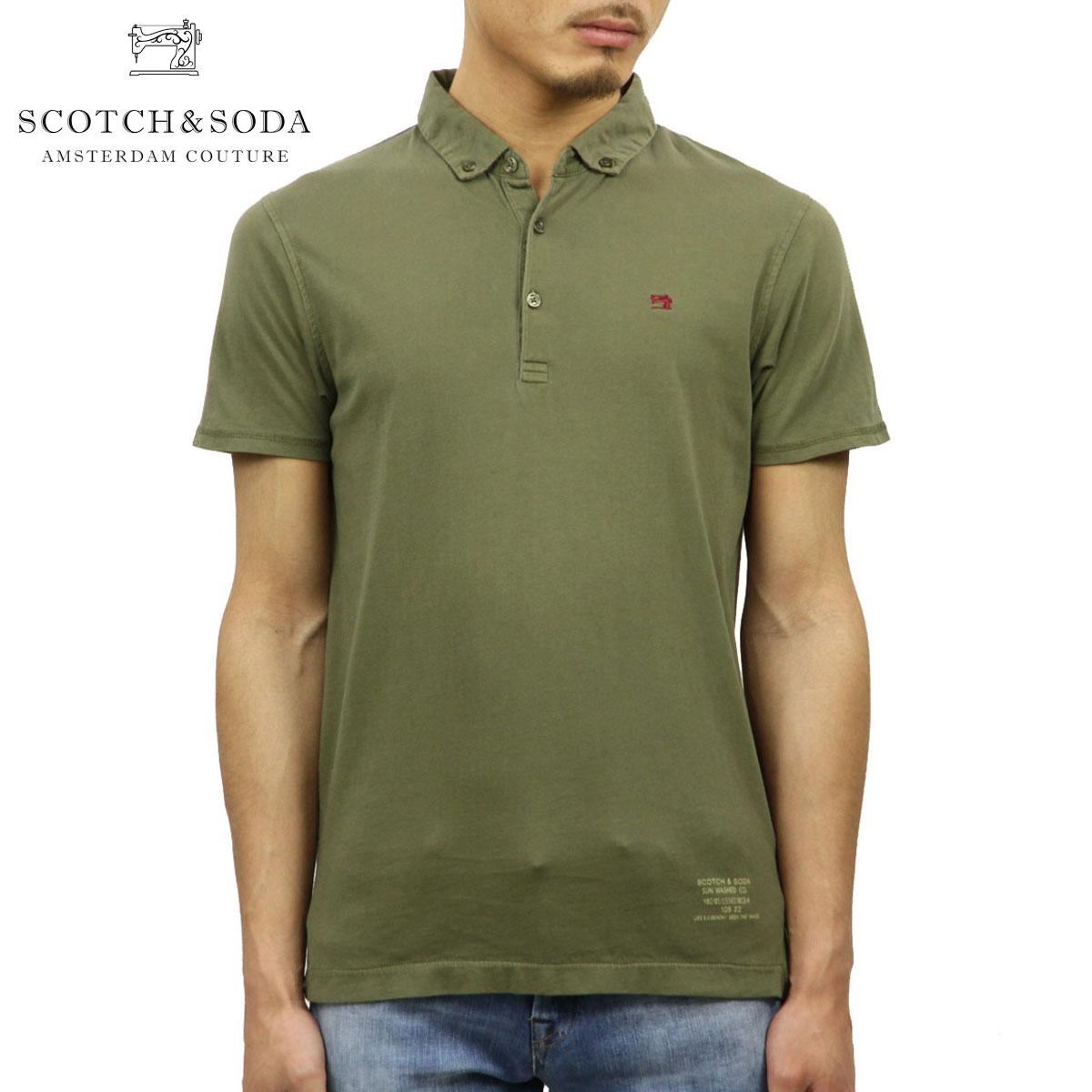 ea1acb38 Scotch Whiskey and soda SCOTCH & SODA regular store men short sleeves polo  shirt CLASSIC ...