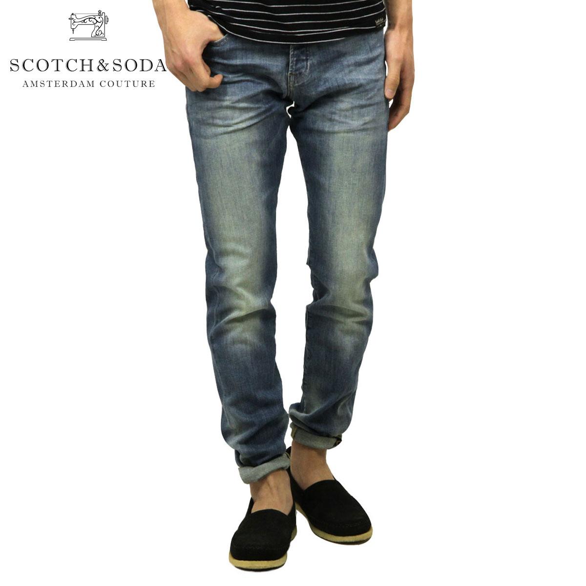 スコッチアンドソーダ SCOTCH&SODA 正規販売店 メンズ ジーンズ RALSTON - GREEN TO GREEN 133042 1839 52500 GREEN T