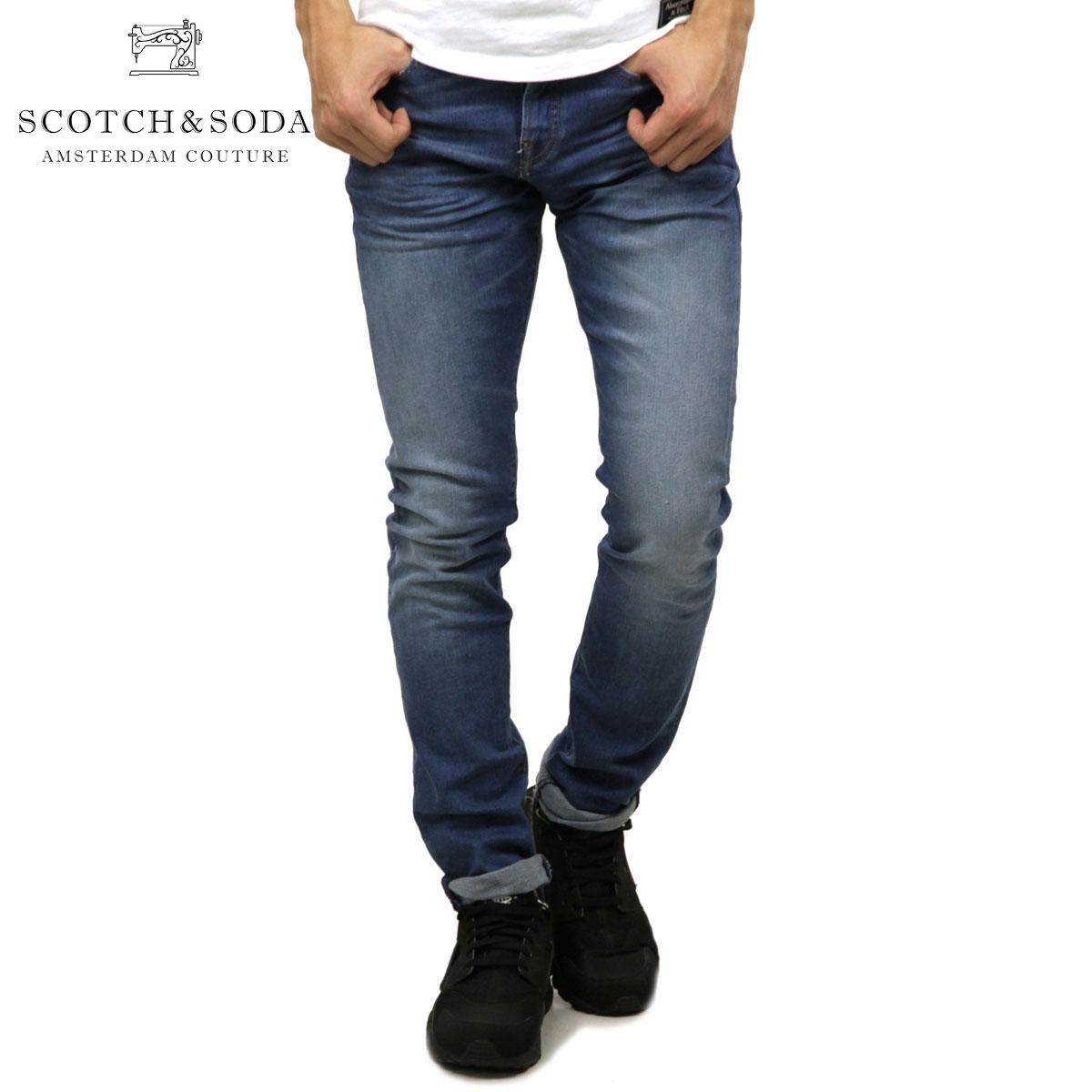 スコッチアンドソーダ SCOTCH&SODA 正規販売店 メンズ スリムデニムパンツ RALSTON SLIM BLUE ROOTS DENIM JEANS 147411 68 65519 BLUE ROOTS D