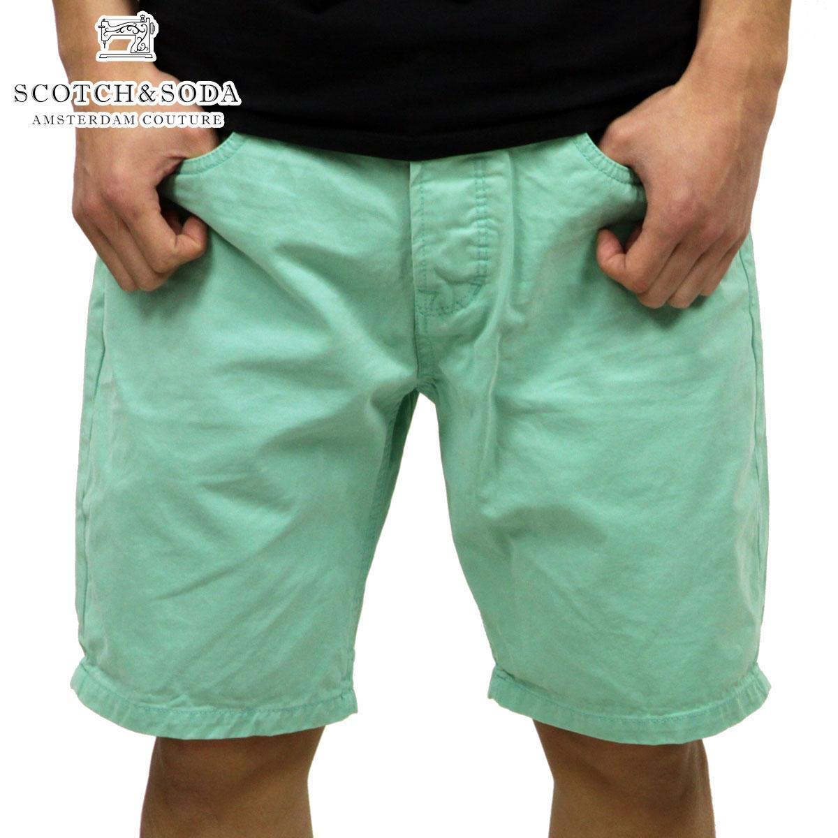 スコッチアンドソーダ SCOTCH&SODA 正規販売店 メンズ ショートパンツ Slim fit 5 pocket short. 81109 38 D15S25