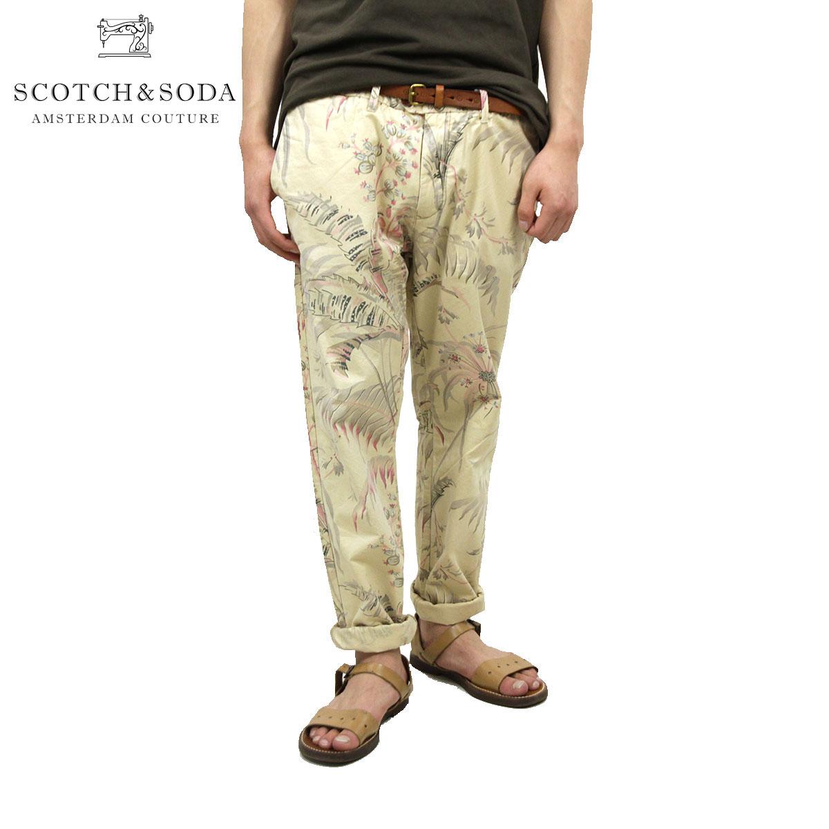 スコッチアンドソーダ チノパン メンズ 正規販売店 SCOTCH&SODA ボトムス Basic pima cotton slim fit chino pant 80003 A