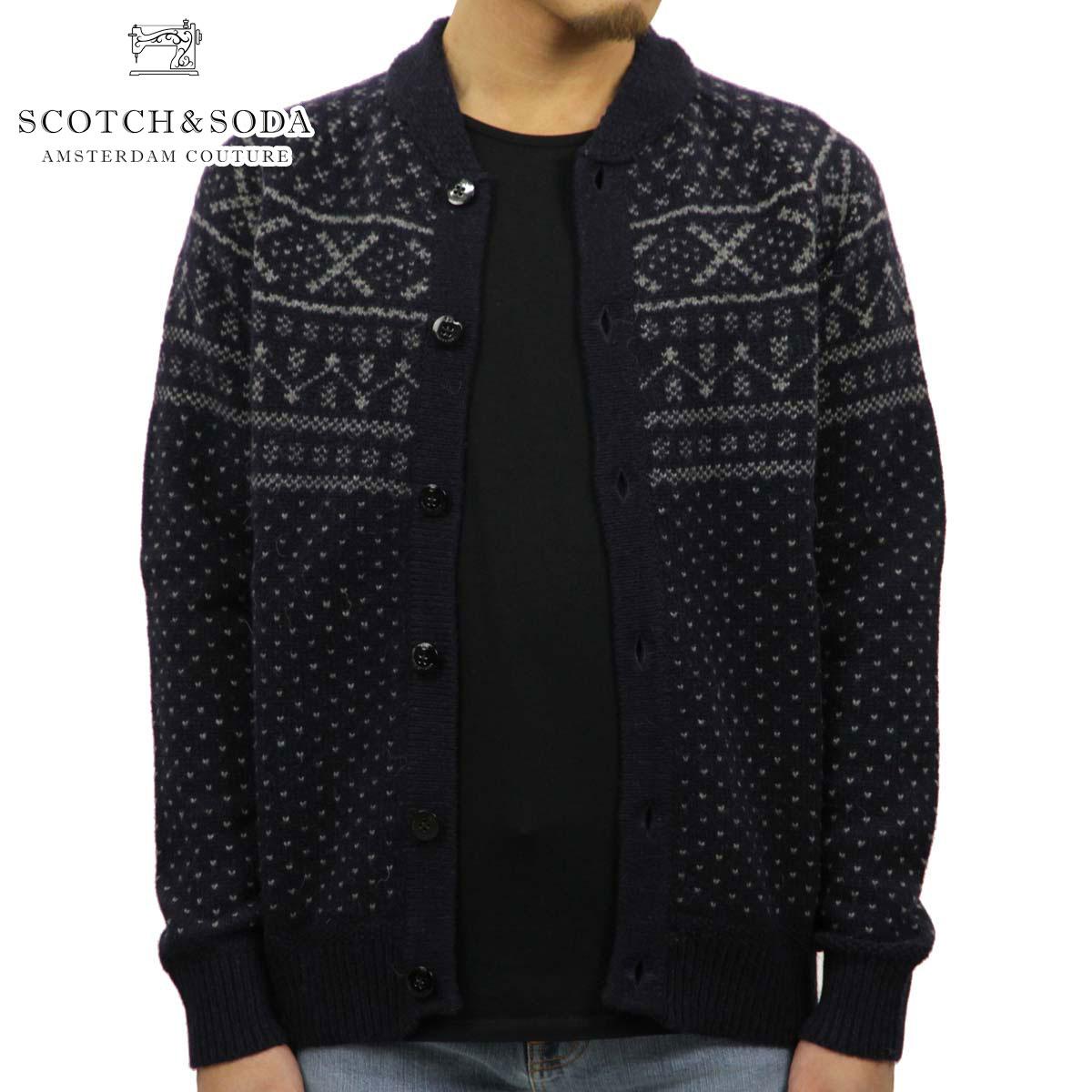 スコッチアンドソーダ セーター メンズ 正規販売店 SCOTCH&SODA カーディガン Jacquard Knit Cardigan