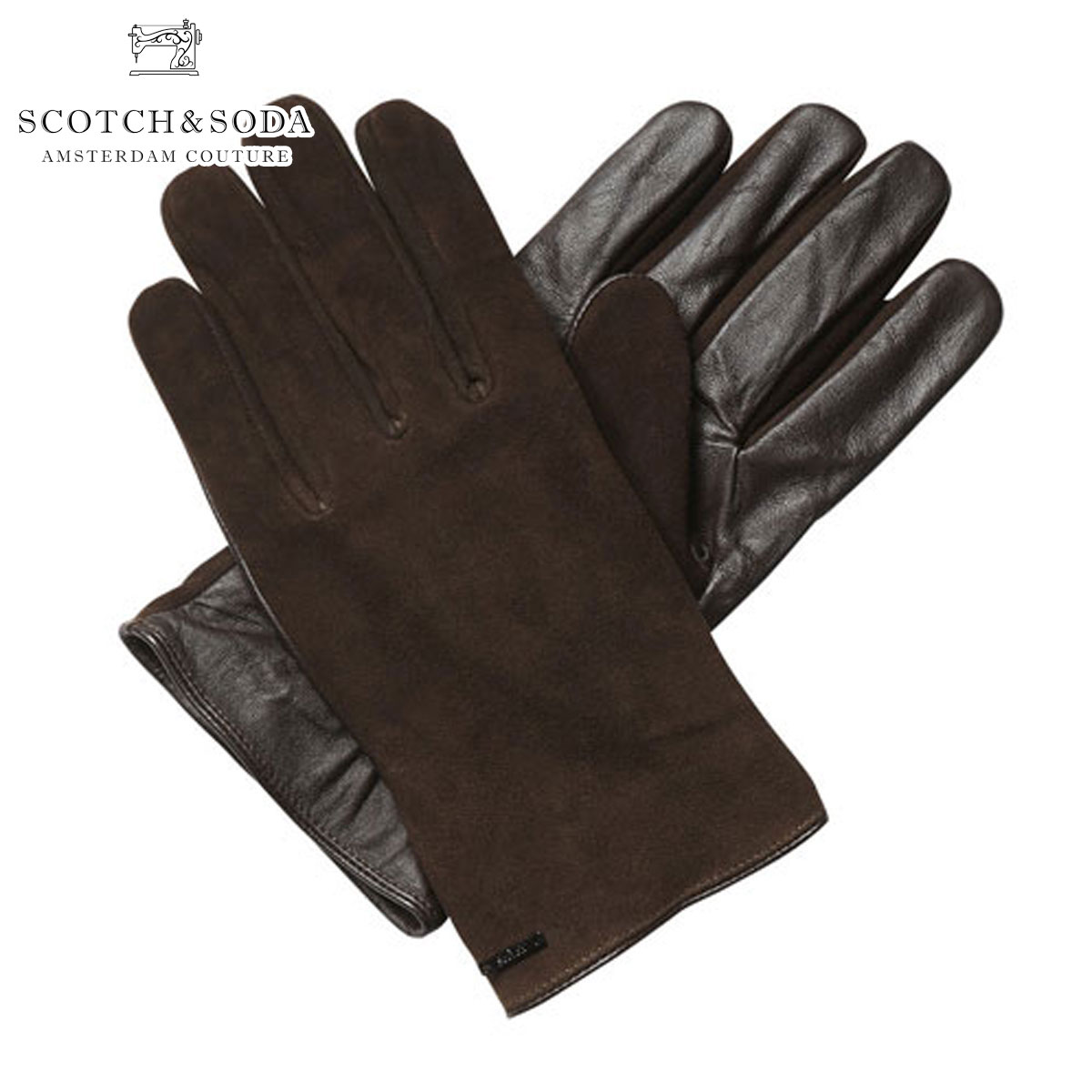 【販売期間 quality suede 6 Gloves/11 10:00~6/20 09:59】 スコッチアンドソーダ SCOTCH&SODA 正規販売店 メンズ 手袋 Gloves in suede and leather quality, EKKO STORE:9b145211 --- sunward.msk.ru