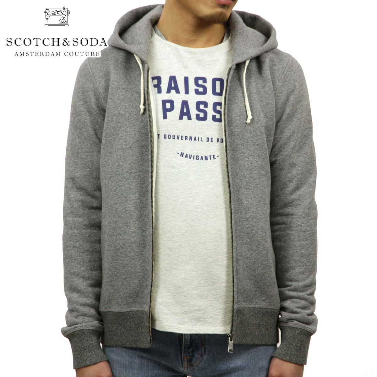スコッチアンドソーダ SCOTCH&SODA 正規販売店 メンズ パーカー Home Alone zip through hooded sweat 40391 970 D00S20