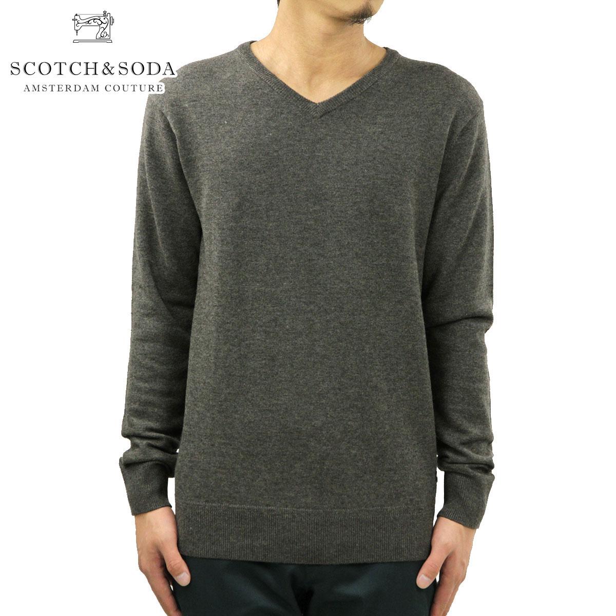 スコッチアンドソーダ SCOTCH&SODA 正規販売店 メンズ セーター CLASSIC V-NECK PULL 60031 150 D00S20