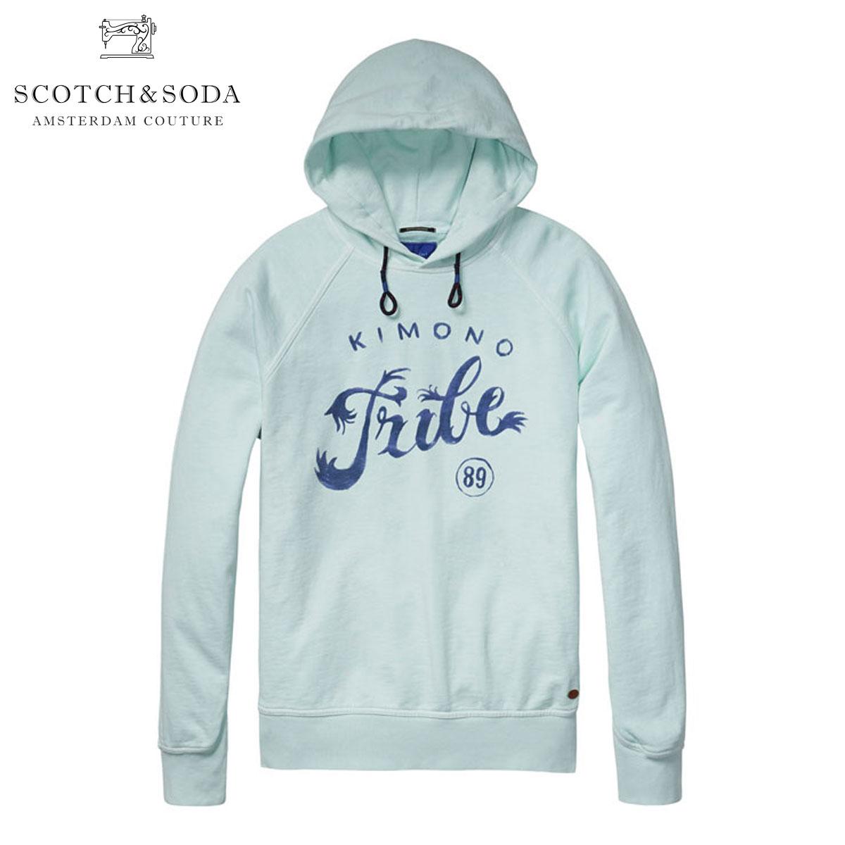 スコッチアンドソーダ SCOTCH&SODA 正規販売店 メンズ パーカー Basic hooded sweater with chest artwork 130785 38 D00S15