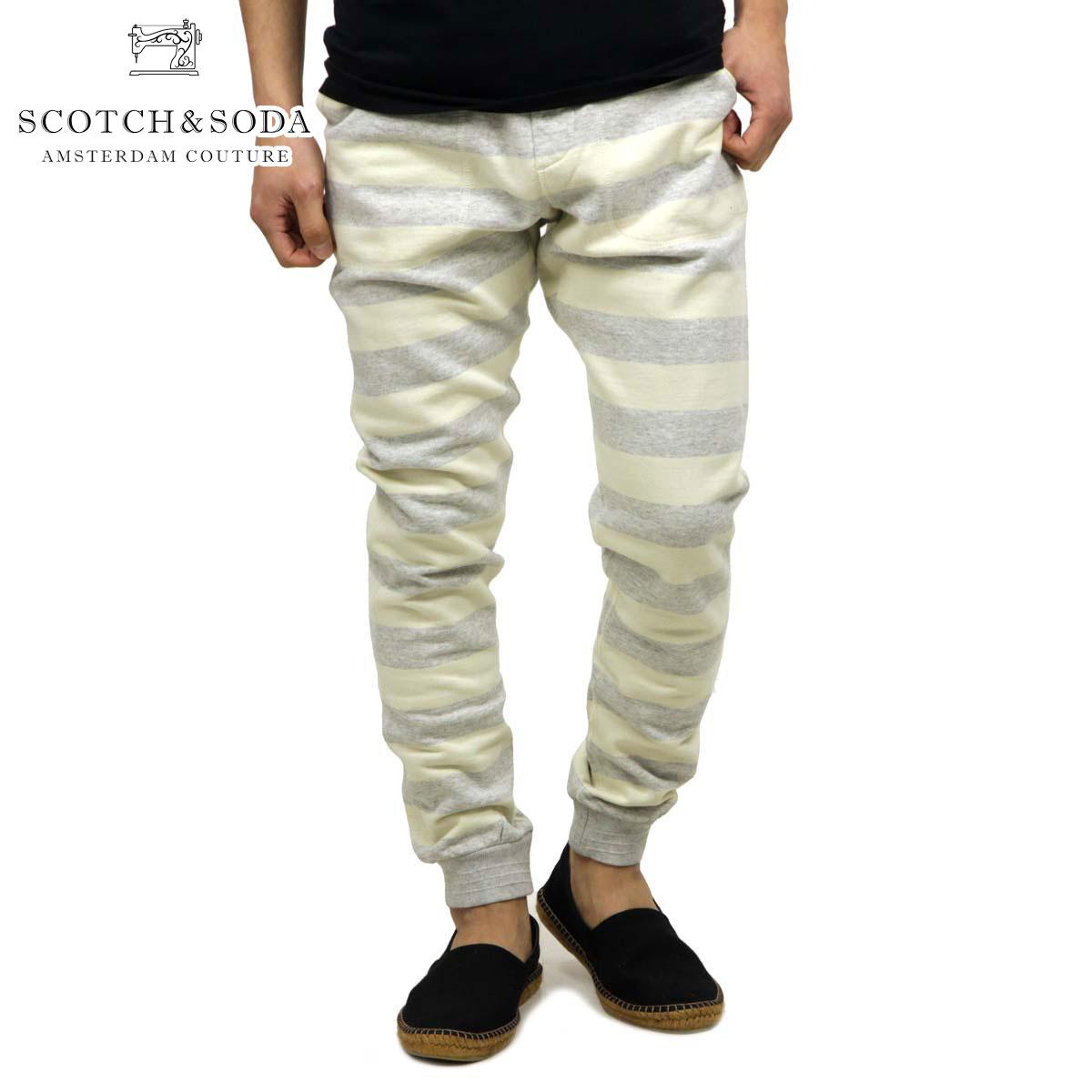スコッチアンドソーダ スウェット メンズ 正規販売店 SCOTCH&SODA トレーナー パンツ Home Alone slim tapered sweat pant 128114 A