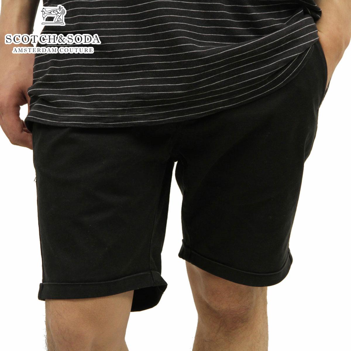 【販売期間 4/2 10:00~4/8 09:59】 スコッチアンドソーダ SCOTCH&SODA 正規販売店 メンズ ショートパンツ Basic garment dyed chino short 131024 90 D15S25