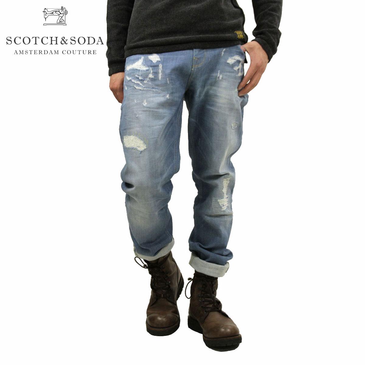 スコッチアンドソーダ SCOTCH&SODA 正規販売店 メンズ ジーンズ Lot 22 Tye-Sunshine Nomad 128552 48 D00S20
