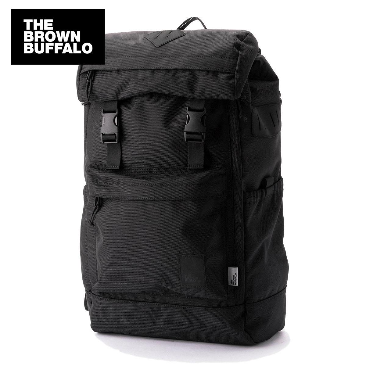 ザ ブラウン バッファロー THE BROWN BUFFALO 正規販売店 メンズ レディース バックパック リュック HILLSIDE BACKPACK BALLISTIC BLACK S19HB1680BLACK