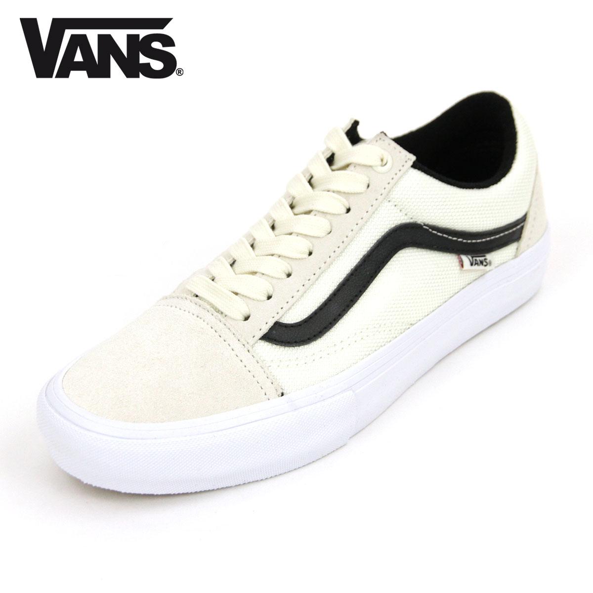 ee67490ebc9 Vans VANS regular store men sneakers old school pro VANS OLD SKOOL PRO  MARSHMALLOW BLACK VN0A45JCVG1