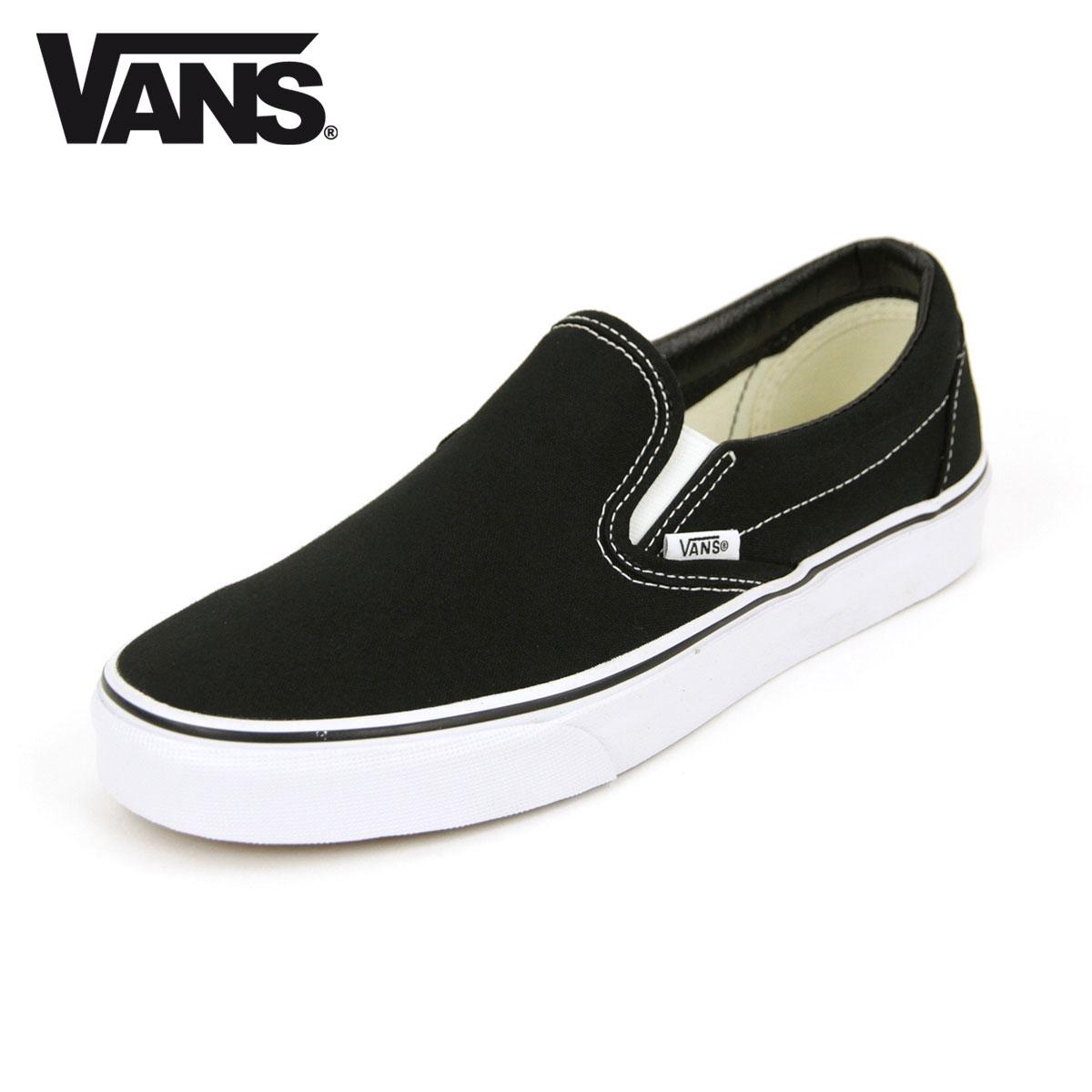regular black vans