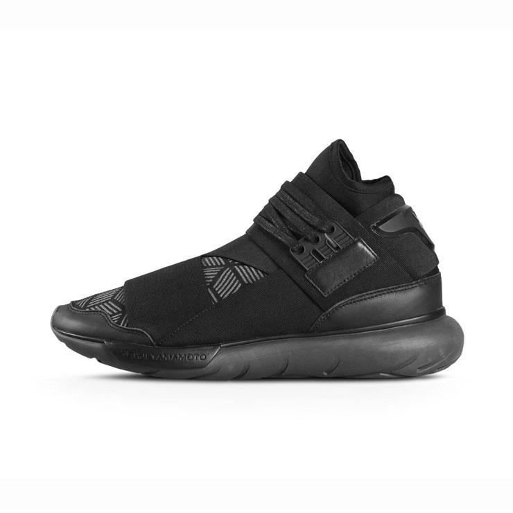 6c23c59226b Weiss Lee Y-3 regular article men sneakers Y-3 QASA HIGH S82123 CORE  BLACK UTILITY BLACK CORE BLACK