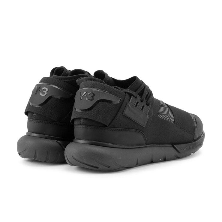 fc5ec189f Weiss Lee Y-3 regular article men sneakers Y-3 QASA HIGH S82123 CORE  BLACK UTILITY BLACK CORE BLACK