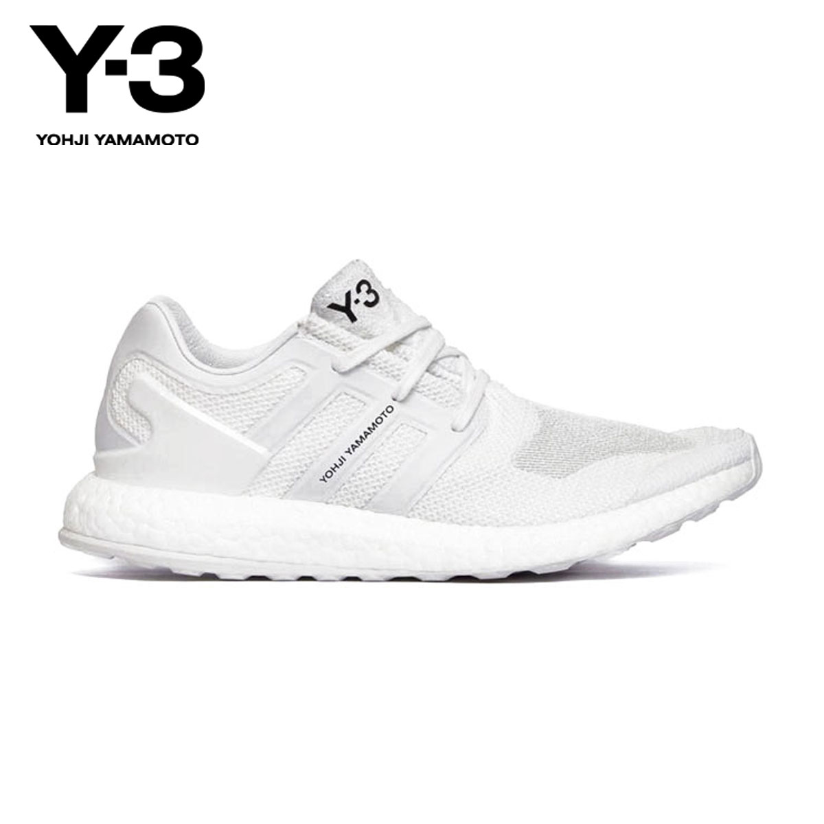 76da81e80 Weiss Lee Y-3 regular article men sneakers Y-3 PUREBOOST BY8955 FTW WHITE CRYSTAL  WHITE FTW WHITE