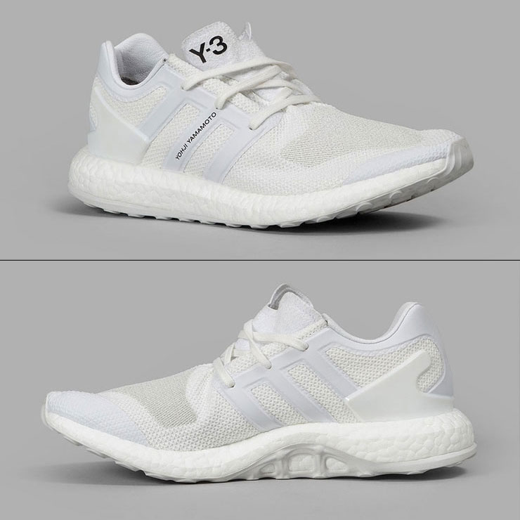 b90f449d9e0fa Weiss Lee Y-3 regular article men sneakers Y-3 PUREBOOST BY8955 FTW WHITE CRYSTAL  WHITE FTW WHITE