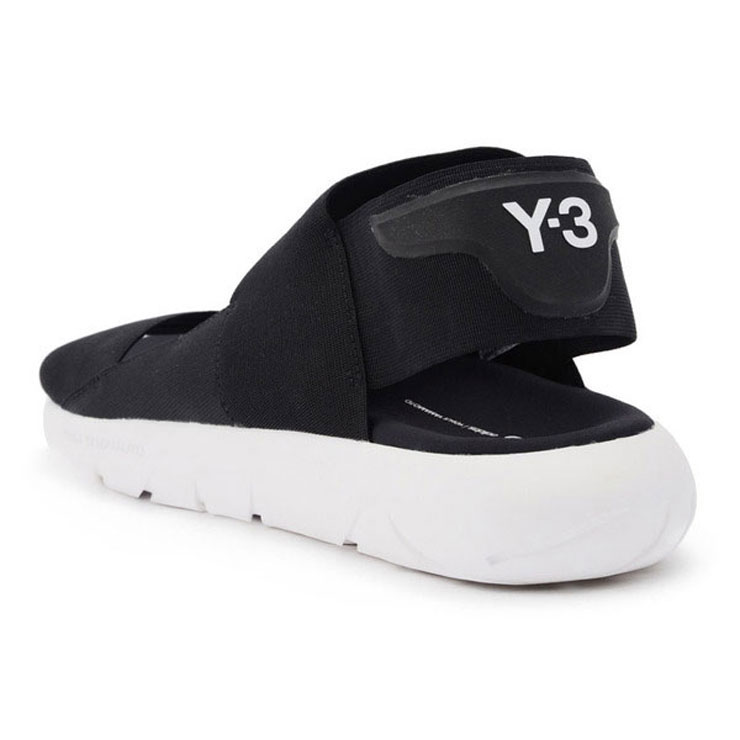 57aa7299c5ca3 Weiss Lee Y-3 regular article men sandals Y-3 QASA SANDAL S82166 CORE BLACK CORE  BLACK CRYSTAL WHITE
