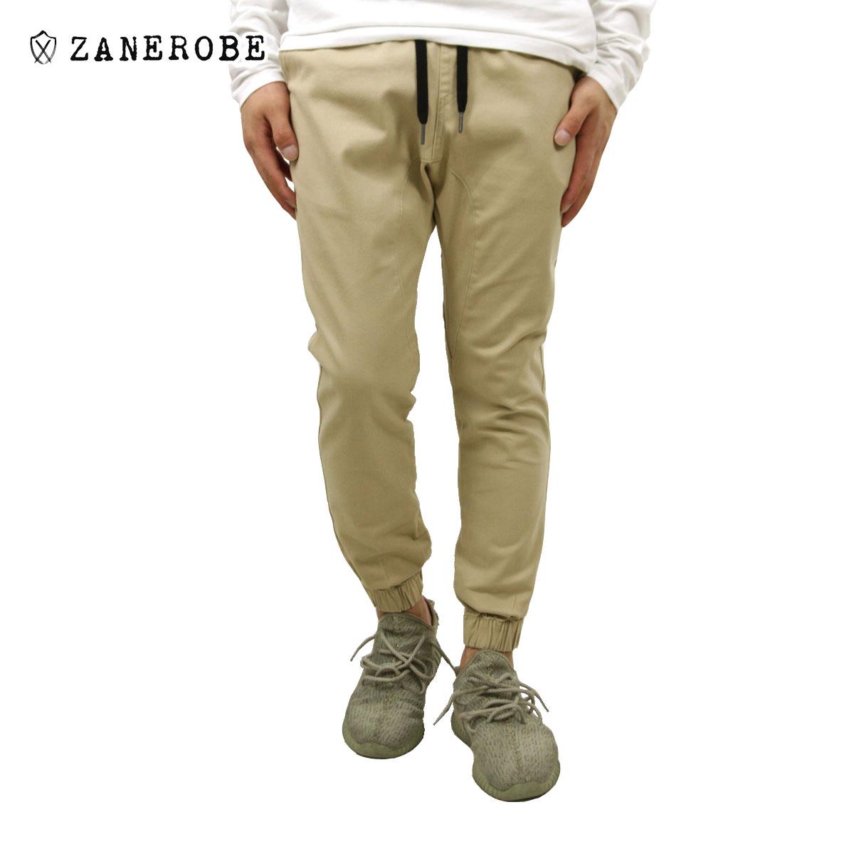 ゼンローブ ZANEROBE 正規販売店 メンズ チノ ジョガーパンツ SURESHOT CHINO JOGGER PANTS TAN 756-MTG