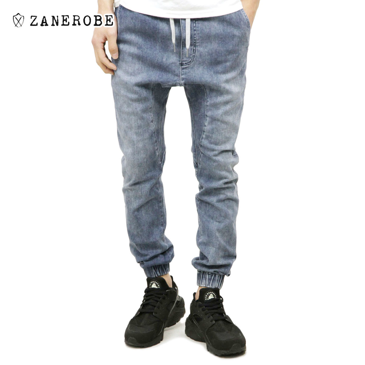 ゼンローブ ZANEROBE 正規販売店 メンズ デニム ジョガーパンツ SURESHOT JOGGER DENIM PANTS DARK BLUE DENIM 705-WANI