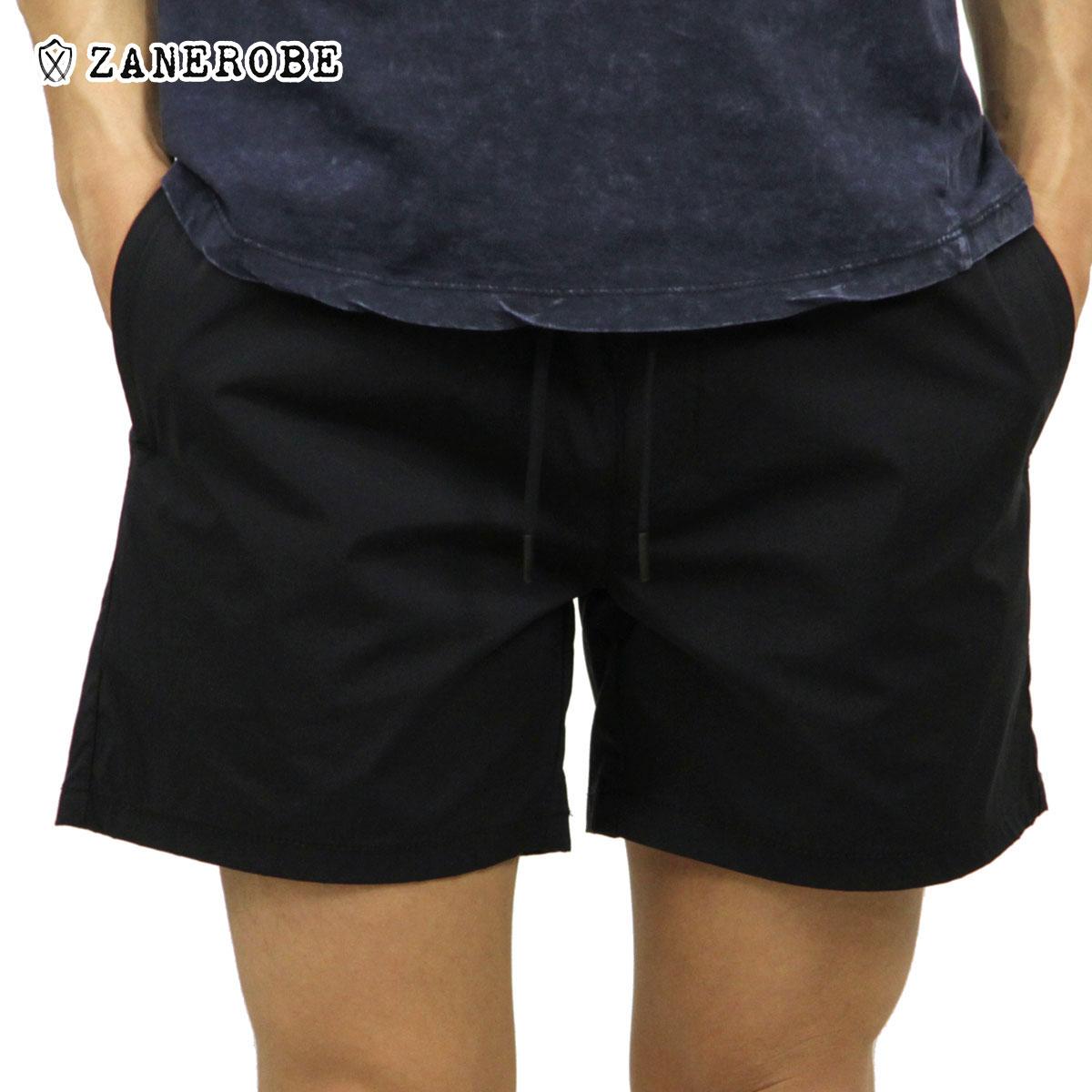 ゼンローブ ZANEROBE 正規販売店 メンズ ハーフパンツ JUMPSHOT SHORT PANTS BLACK 607-PRE