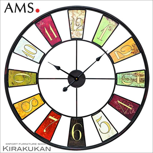 【クーポン配布中】輸入時計【AMS(アームス社ドイツ製).クォーツ・大型壁掛け時計 AMS-9488】【送料無料】 おしゃれ ドイツ製 時計 掛け時計 置時計 クラシック 時計 モダン 時計 ヨーロッパ時計 ヘルムレ アンティーク時計