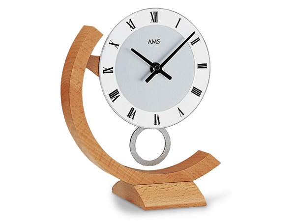 【クーポン配布中】輸入時計【AMS(アームス社ドイツ製).クオーツ置き時計 AMS-163】 【送料無料】人気 おしゃれ ドイツ製 時計 掛け時計 置時計 クラシック 時計 モダン 時計 ヨーロッパ時計 ヘルムレ アンティーク時計