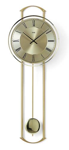 【クーポン配布中】輸入時計【AMS(アームス社ドイツ製).壁掛けクオーツ時計 AMS-7083】 【送料無料】人気 おしゃれ ドイツ製 時計 掛け時計 置時計 クラシック 時計 モダン 時計 ヨーロッパ時計 ヘルムレ アンティーク時計