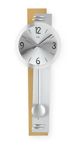 【クーポン配布中】輸入時計【AMS(アームス社ドイツ製).クォーツ・壁掛け時計 AMS-7255】 【送料無料】人気 おしゃれ ドイツ製 時計 掛け時計 置時計 クラシック 時計 モダン 時計 ヨーロッパ時計 ヘルムレ アンティーク時計