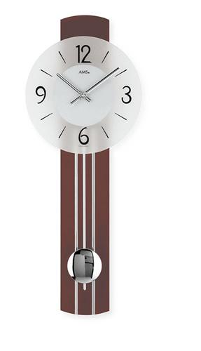 《スーパーセール期間限定価格》輸入時計【AMS(アームス社ドイツ製).クォーツ・壁掛け時計 AMS-7275】 【送料無料】人気 おしゃれ ドイツ製 時計 掛け時計 置時計 クラシック 時計 モダン 時計 ヨーロッパ時計 ヘルムレ アンティーク時計