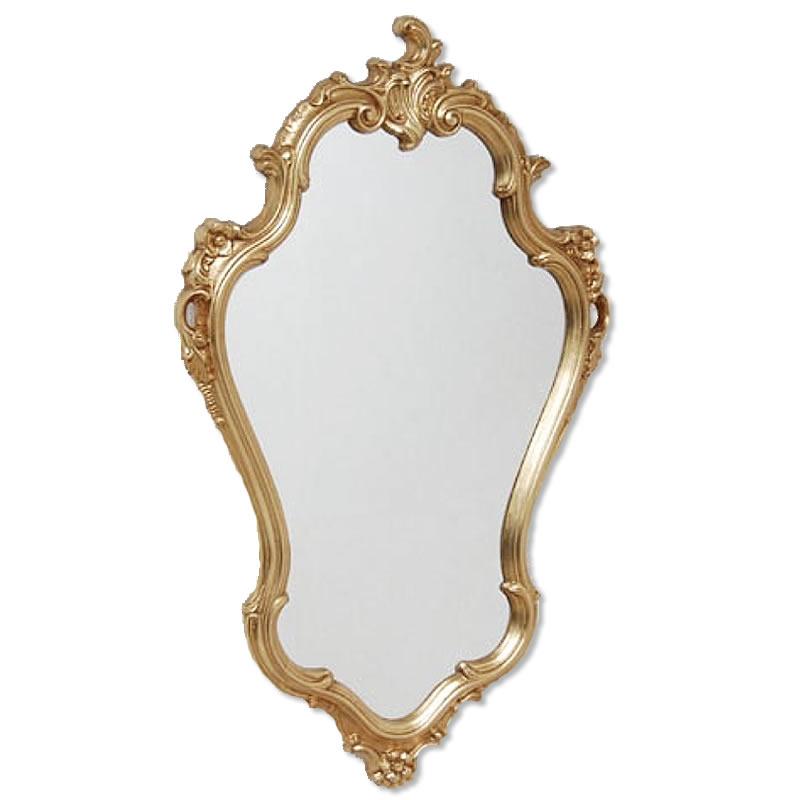 【クーポン配布中】鏡 クラシックミラー ゴールド【送料無料】おしゃれなミラー 壁掛けが多く、鏡 アンティークやミラー 壁掛け 鏡 全身鏡 姿見・ロココ クラシック 鏡など豊富