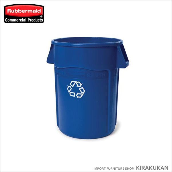 【クーポン配布中】ブルートユーティリティリサイクルコンテナ(75.7L フタなし) リサイクルマーク付】くず箱 分別 ゴミ箱 スリム デザイン 雑貨 エコ雑貨 トラッシュカン インテリア雑貨 カフェ雑貨