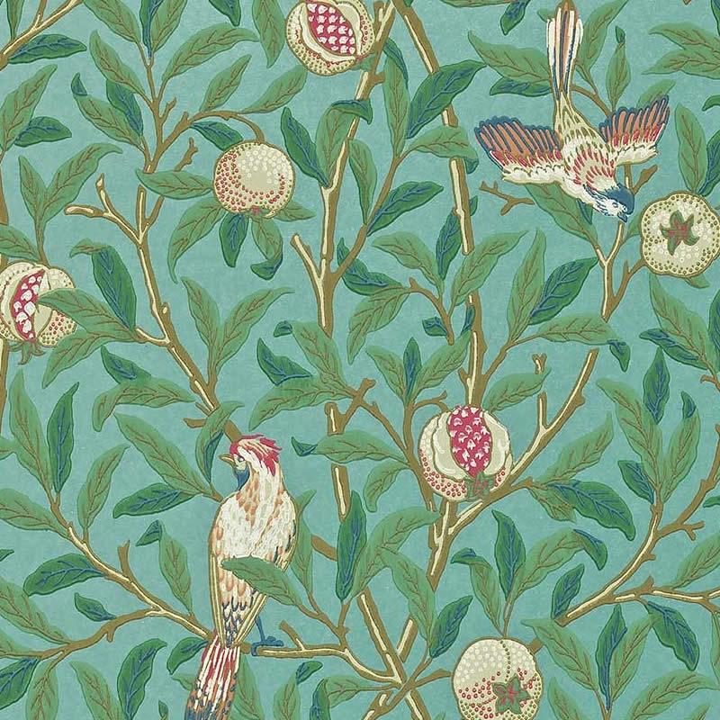 送料無料 ウィリアムモリス 壁紙 鳥とザクロ Bird Pomegranate 至上 おしゃれ ウォールペーパー クロス darw212538 本物 クーポン配布中 蔵 輸入壁紙 Morris アンティーク インテリア イギリス製 植物