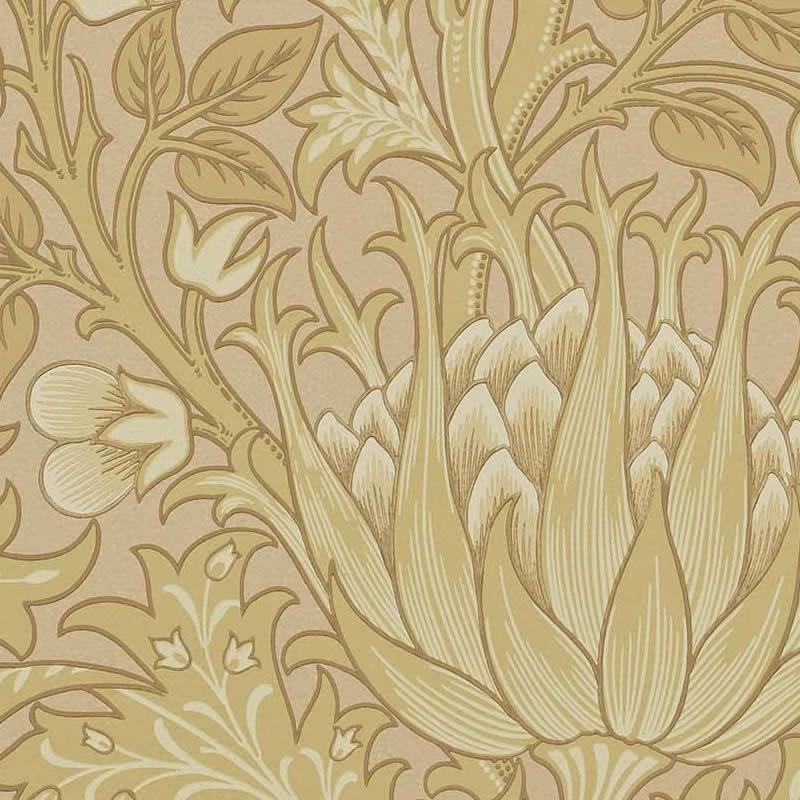 【クーポン配布中】ウィリアムモリス 壁紙【アーティチョーク Artichoke】おしゃれ 壁紙 ウォールペーパー クロス 輸入壁紙 イギリス製 アンティーク 壁紙 植物 ボタニカル インテリア 本物 Morris【0830249】
