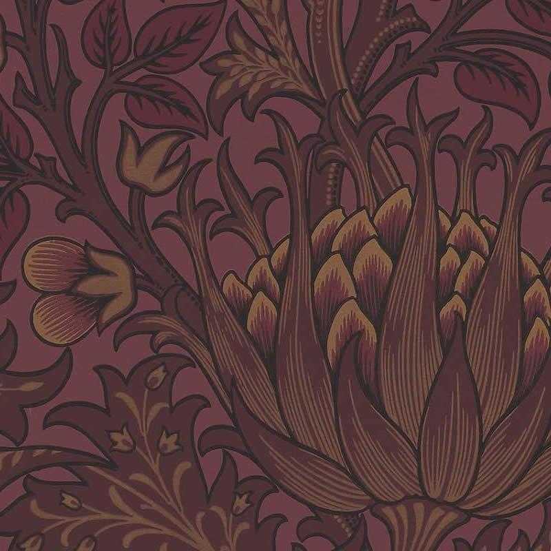 【クーポン配布中】ウィリアムモリス 壁紙【アーティチョーク Artichoke】おしゃれ 壁紙 ウォールペーパー クロス 輸入壁紙 イギリス製 アンティーク 壁紙 植物 ボタニカル インテリア 本物 Morris【0830250】