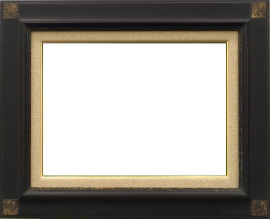 【送料無料】★激安★油絵用額縁 M10号/P10号キャンバス用 7722 鉄黒 油絵額縁【油絵】油彩用額縁【油彩】額縁